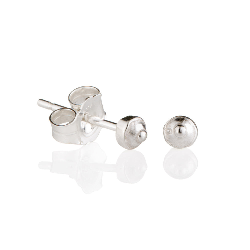 Sterling silver sea urchin nipple studs