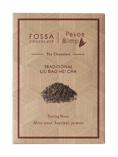 Fossa Liu Bao Hei Cha Tea Chocolate