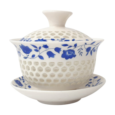 Gaiwan translucent flower 110ml