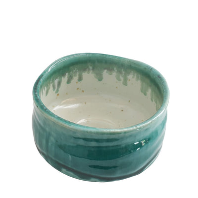 Matcha bowl teal