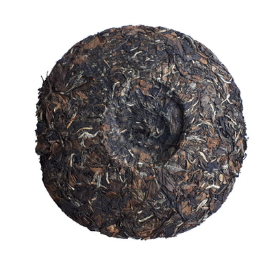 Shou Mei 2010 (Aged White Tea ) back