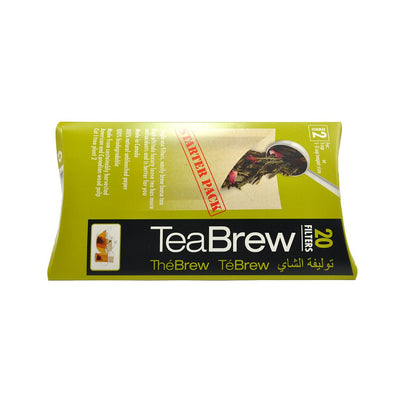 paper filter tea bags for single use
