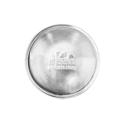 base of Tea storage canister, stainless steel