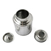 parts of Tea storage canister, stainless steel
