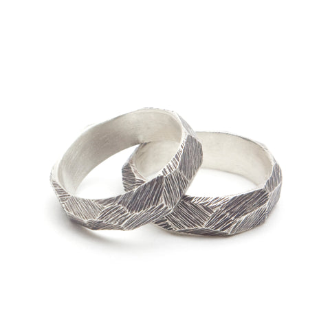 Dreaming of Glaciers Ring - Sterling Silver