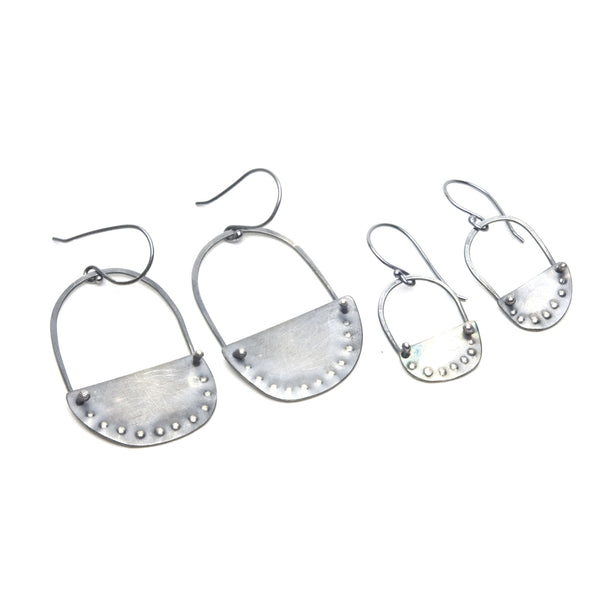 Oslo Sterling Earrings - Large