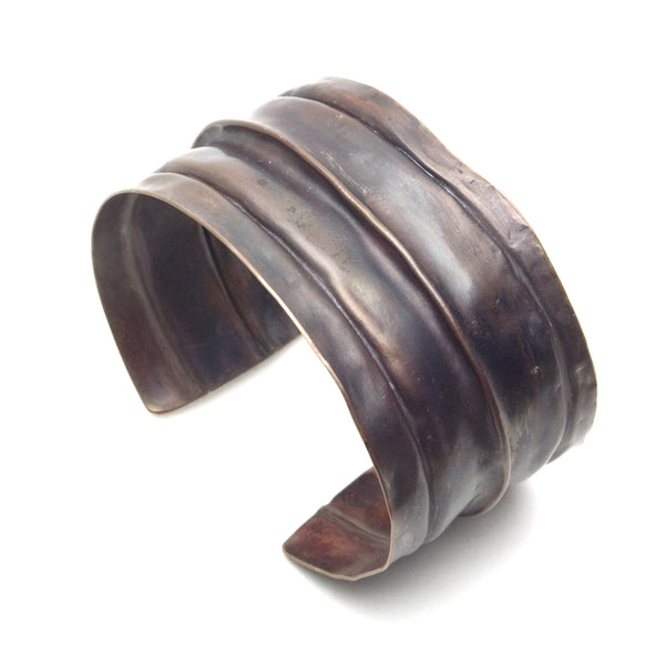 Copper Folded Cuff