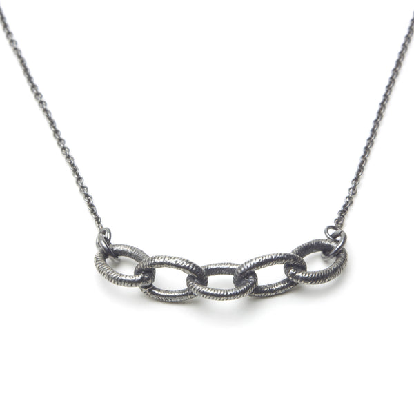 Linked Together Sterling Necklace