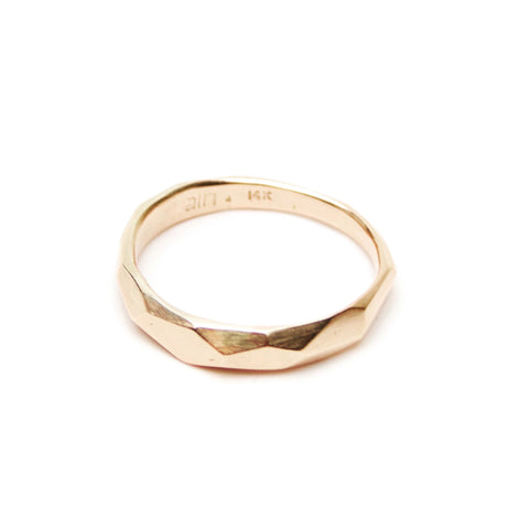 Dreaming of Glaciers Ring - Rose Gold
