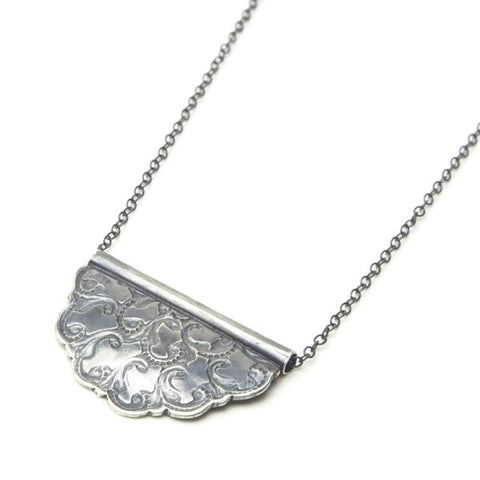 Filigree Fan Necklace