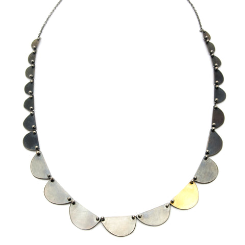 Cape Town Necklace with 24K Keumboo - Large