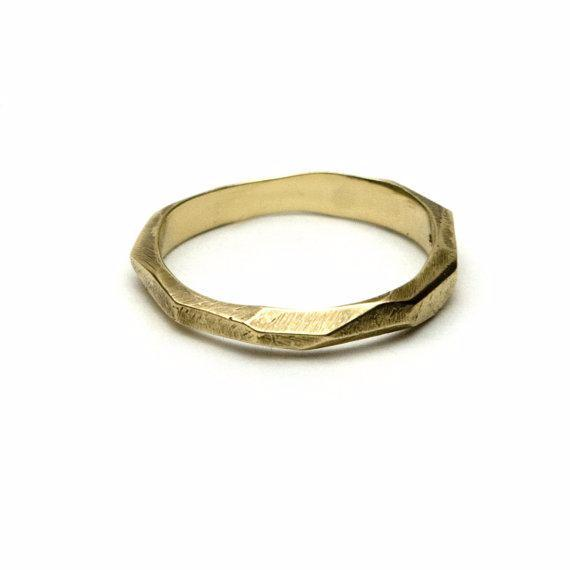 Dreaming of Glaciers Ring - Yellow Gold