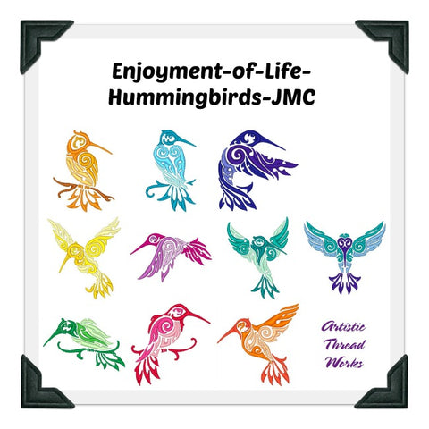 Enjoyment Of Life Hummingbirds   ATWS-10100