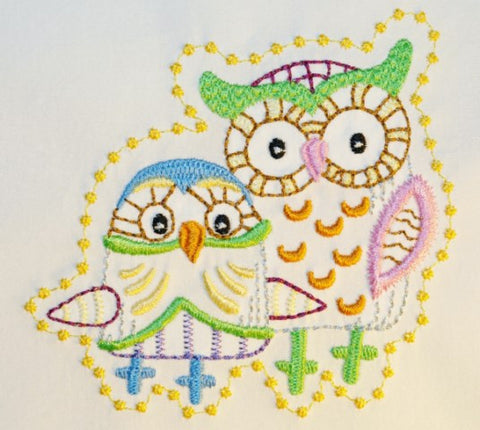 Decorative Owls  ATWS-10313