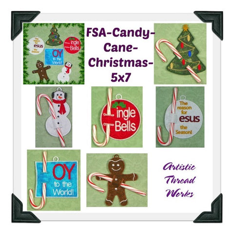 Candy Cane Christmas Project ATWS-10099 BD11