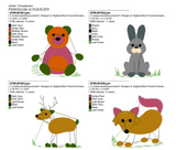 Stick Forest Animals ATWS-10001