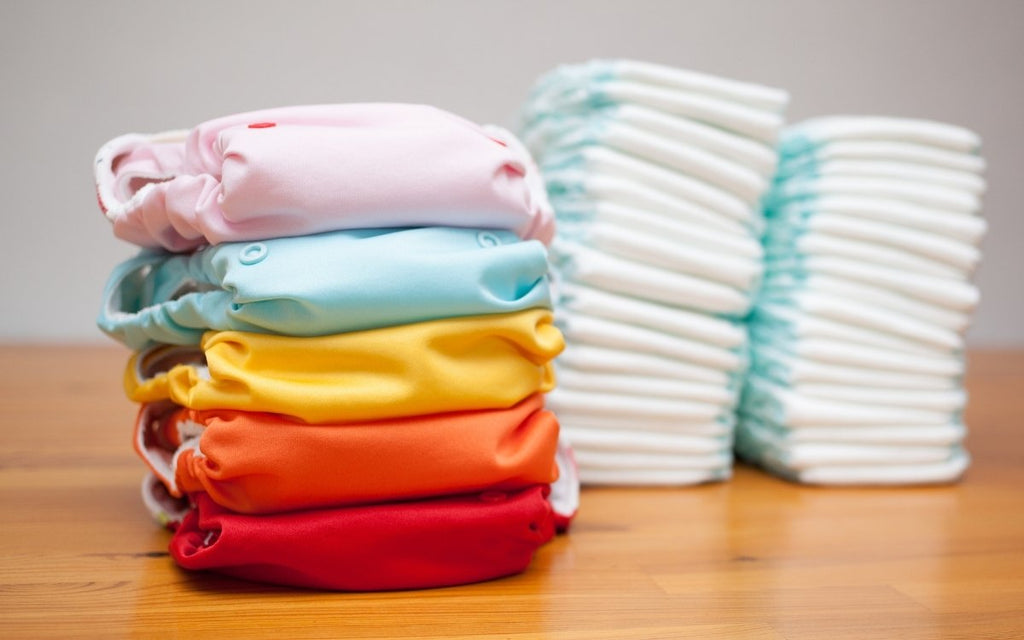 Cloth Diapers vs. Disposable Diapers
