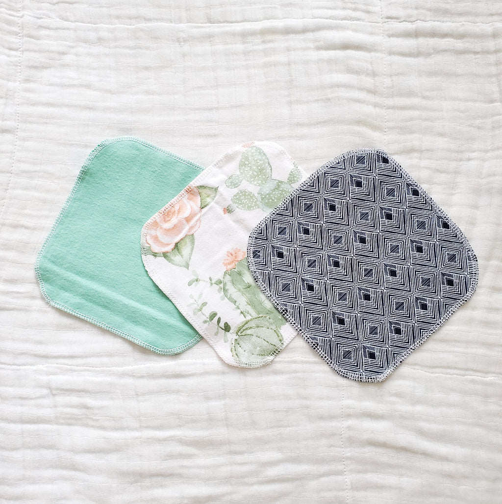 Salem Cloth Project reusable cloth wipes