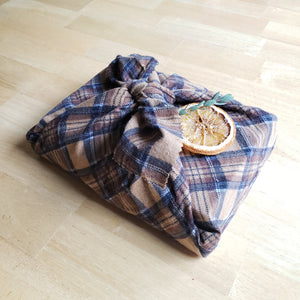 Upcycled Reusable Gift Wrap