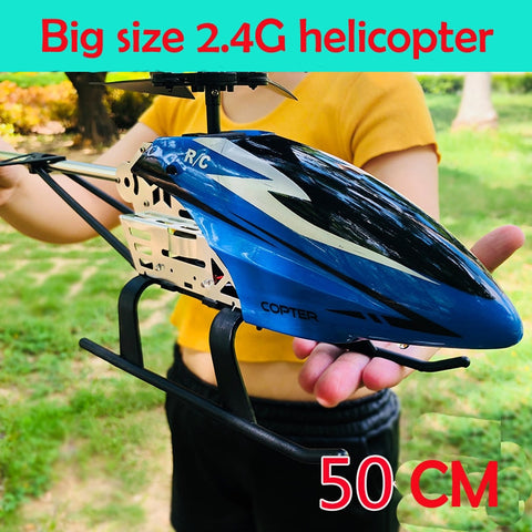 TITAN RC HELICOPTER | Todo em METAL -  50cm FULL LARGE!