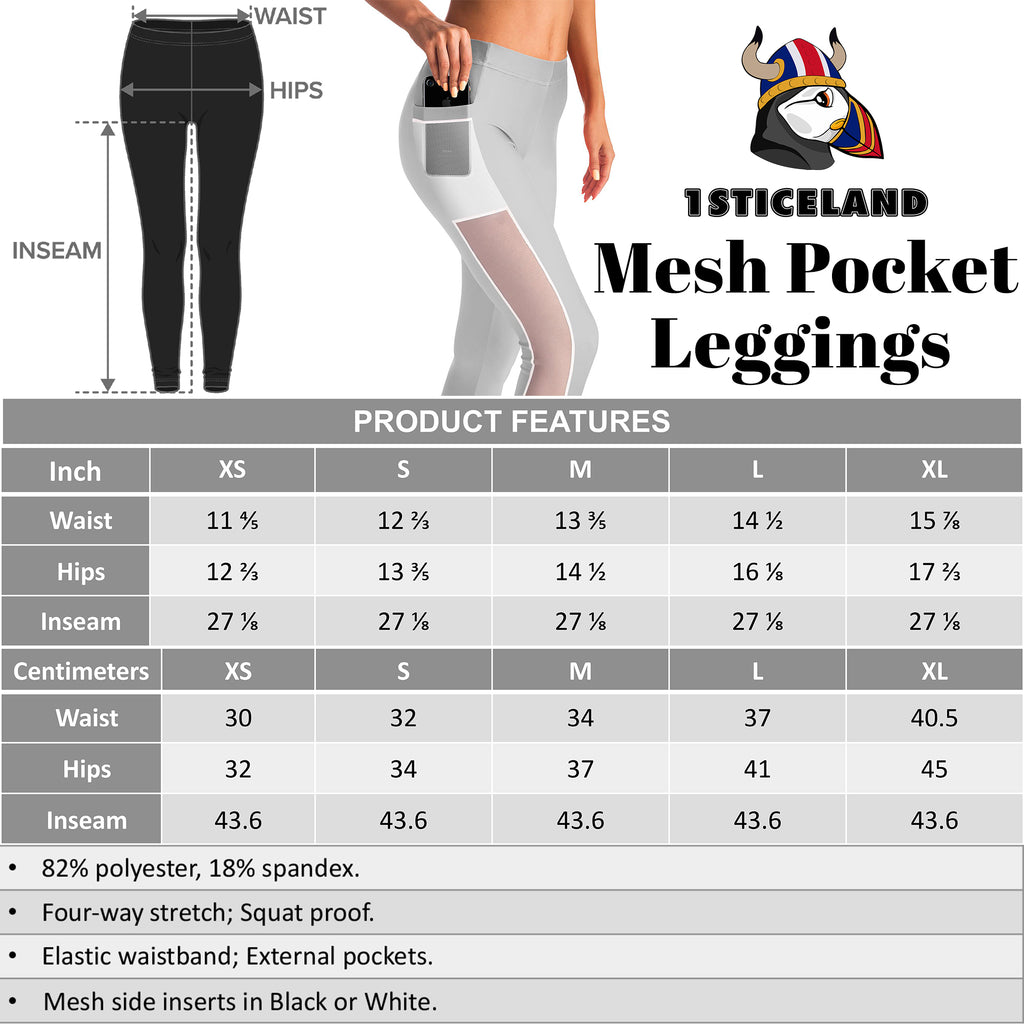 MESH POCKET LEGGINGS | 1sticeland.com