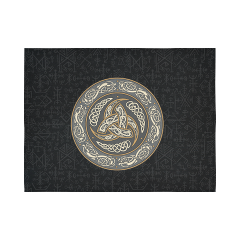 1stIceland Viking Tapestry, Horn Of Odin Futhark Norse A7 - 1st Iceland