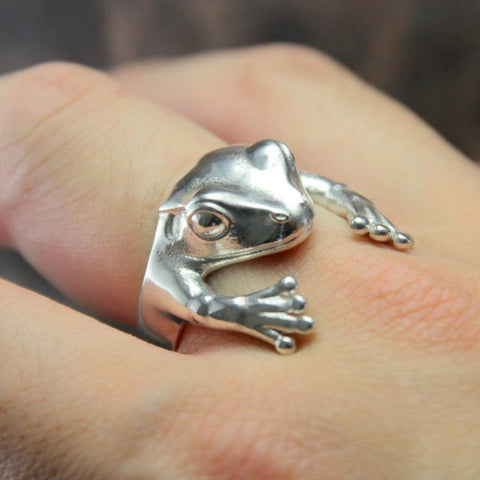 Frog Hug Ring TH19 - 1st Iceland