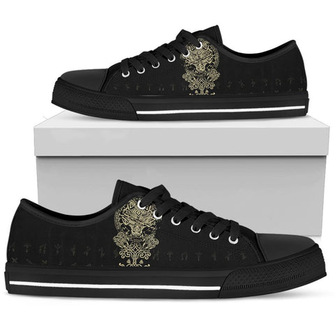 Image of 1stIceland Viking Wolf Fenrir Low Top Shoe TH12 - 1st Iceland