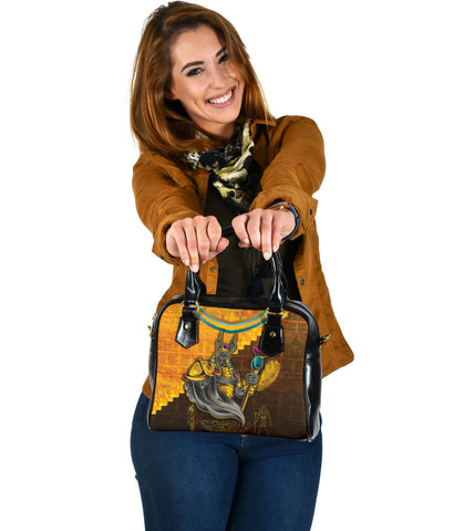 1stIceland Anubis Shoulder Handbag Egyptian God K8 - 1st Iceland