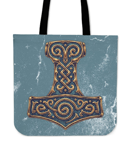 1stIceland Viking Tote Bags, Odin's Mjolnir A1 - 1st Iceland