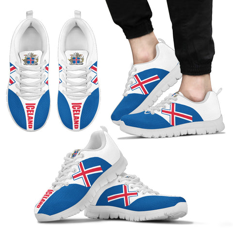 1stIceland  Sneakers, Iceland Flag Coat Of Arms K4 - 1st Iceland