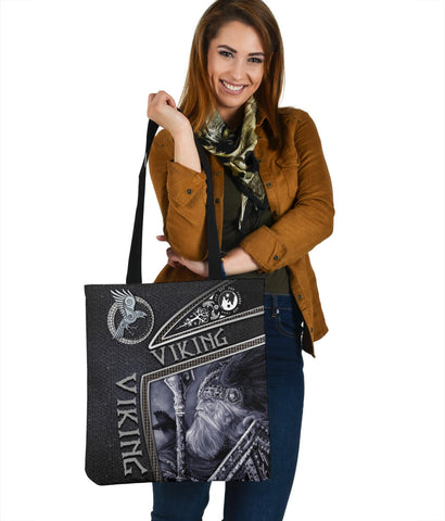 1st Iceland Viking God Metal Tote Bag