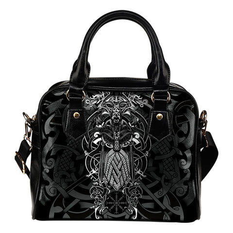 1stIceland Viking Shoulder Handbags, Odin Norse Mythology Fenrir K7 - 1st Iceland
