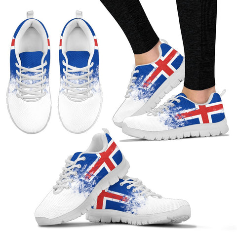 1stIceland Sneakers, Iceland Flag H4 - 1st Iceland