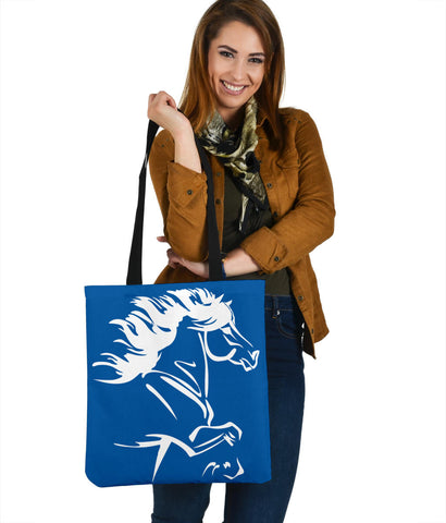 Image of 1stIceland Tote Bag, Icelandic Horse Coat Of Arms