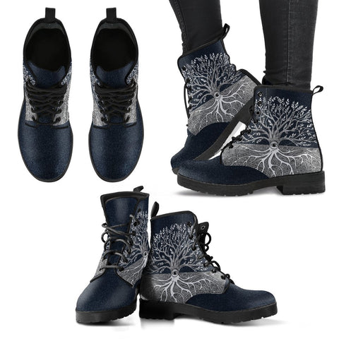 Image of 1stIceland Viking Leather Boots, Yggdrasil A0 - 1st Iceland