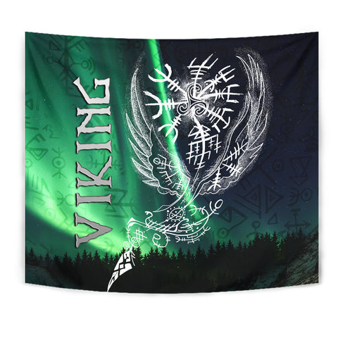 1stIceland Viking Tapestry Northern Lights