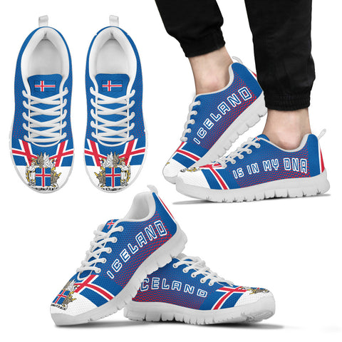1stIceland Sneakers , Iceland Flag Coat Of Arms K7 - 1st Iceland