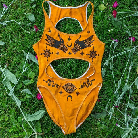 Witch Hand Bodysuit - Witch Hand Bikini TH19 - 1st Iceland