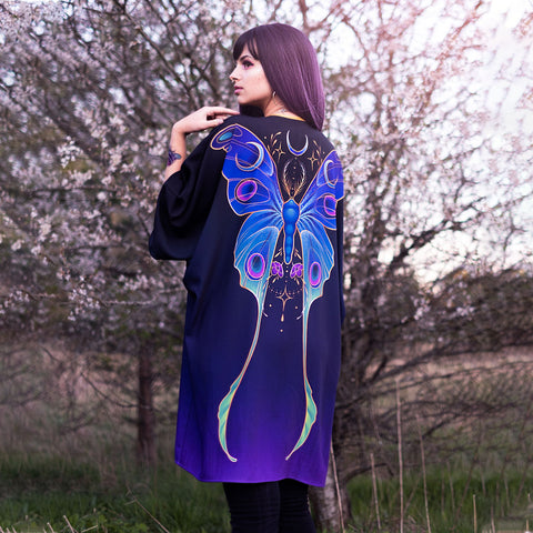 Image of Night Butterfly Kimono TH19 - 1st Iceland