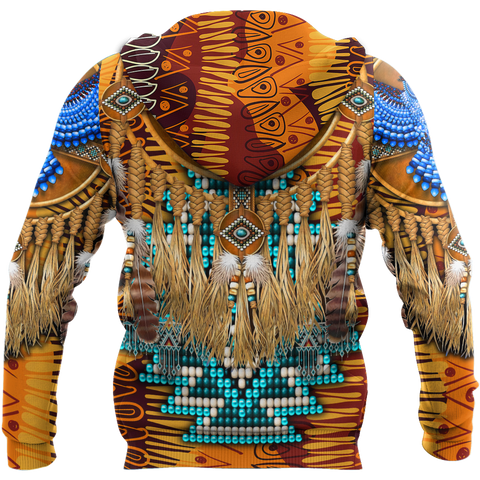 Image of 1st Iceland Eagle Native American Zip Hoodie