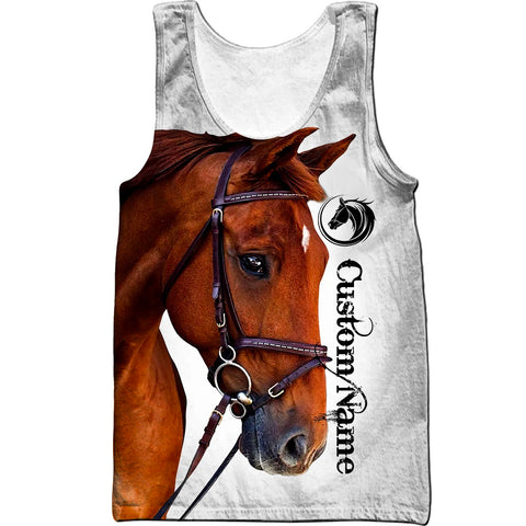 Image of (Customze) 1stIceland Horse Men's Tank Top TH12 - 1st Iceland