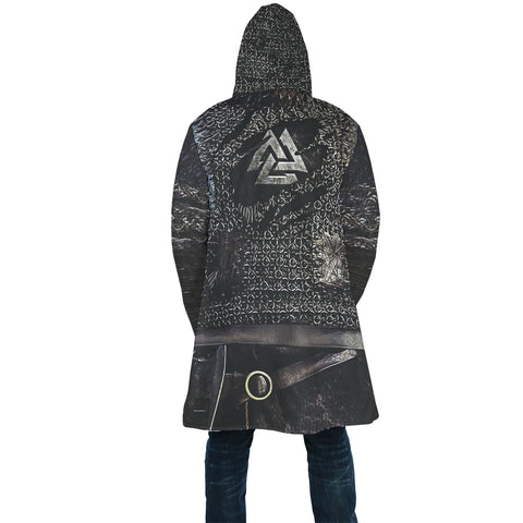 Image of 1stIceland Viking Hooded Cloak, Valknut Ragnar Raven TH0047 - 1st Iceland