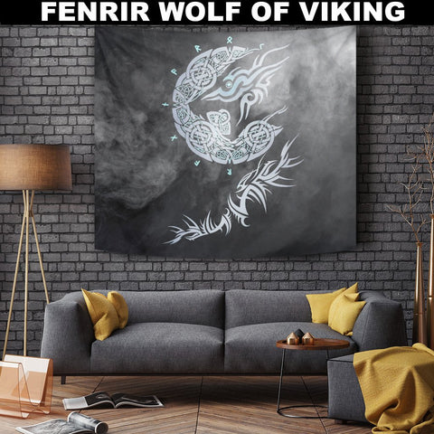 Image of 1stIceland Viking Tapestry , Tyr's Fenrir Norse Mythology A7 - 1st Iceland
