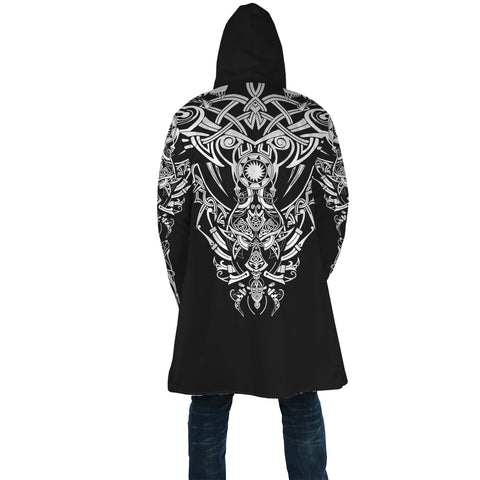 1stIceland Geki & Freki Viking Wolf Poker Hooded Cloak TH12 - 1st Iceland