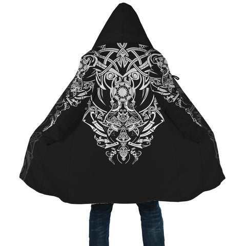 Image of 1stIceland Geki & Freki Viking Wolf Hooded Cloak TH12 - 1st Iceland