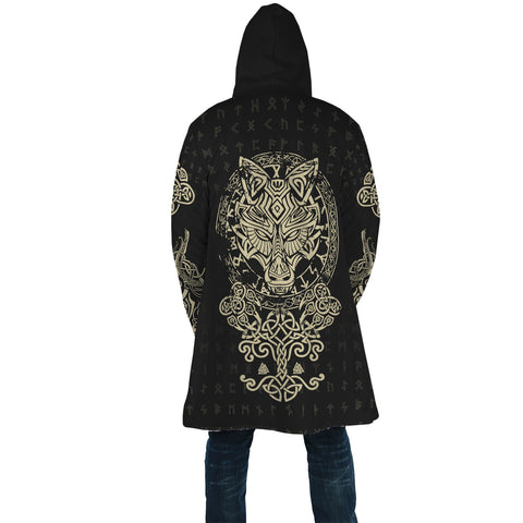 1stIceland Viking Wolf Fenrir Poker Hooded Cloak TH12 - 1st Iceland
