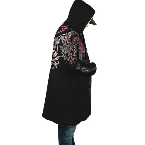 1stIceland Geki & Freki Viking Wolf Blood Poker Hooded Cloak TH12 - 1st Iceland