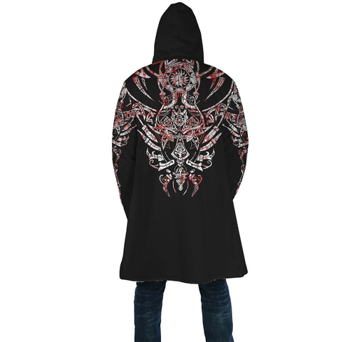 Image of 1stIceland Geki & Freki Viking Wolf Blood Hooded Cloak TH12 - 1st Iceland