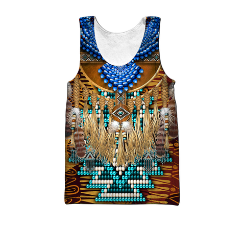 1st Iceland Eagle Native American Men's Tank Top TH12 - 1st Iceland